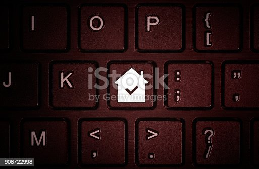 1023041738istockphoto Concept of rent, search, purchase real estate. 908722998