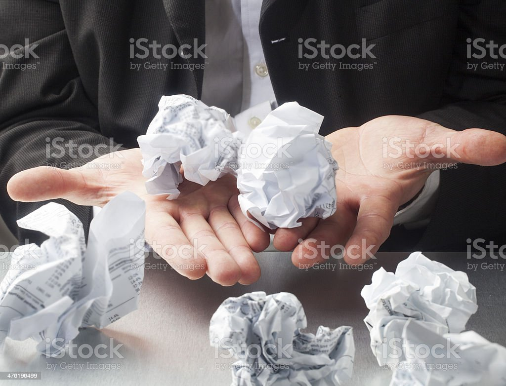 concept of ripping off ideas royalty-free stock photo