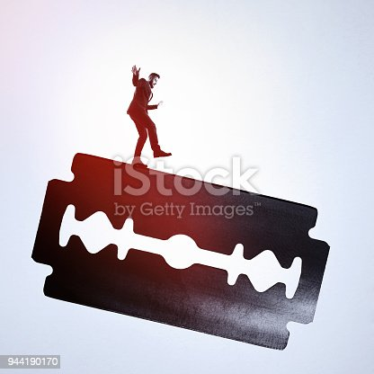 istock Concept of risk. 944190170