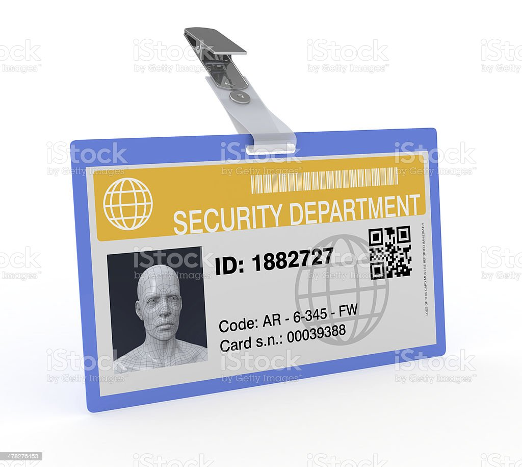 concept of security stock photo