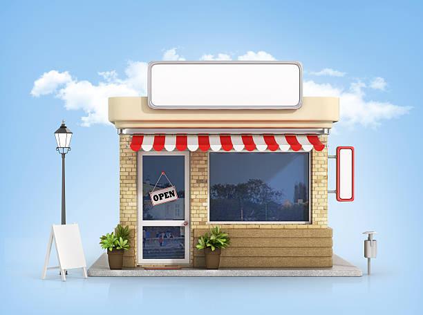 Concept of shop. stock photo