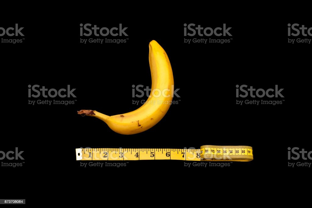 A concept of size does matter stock photo