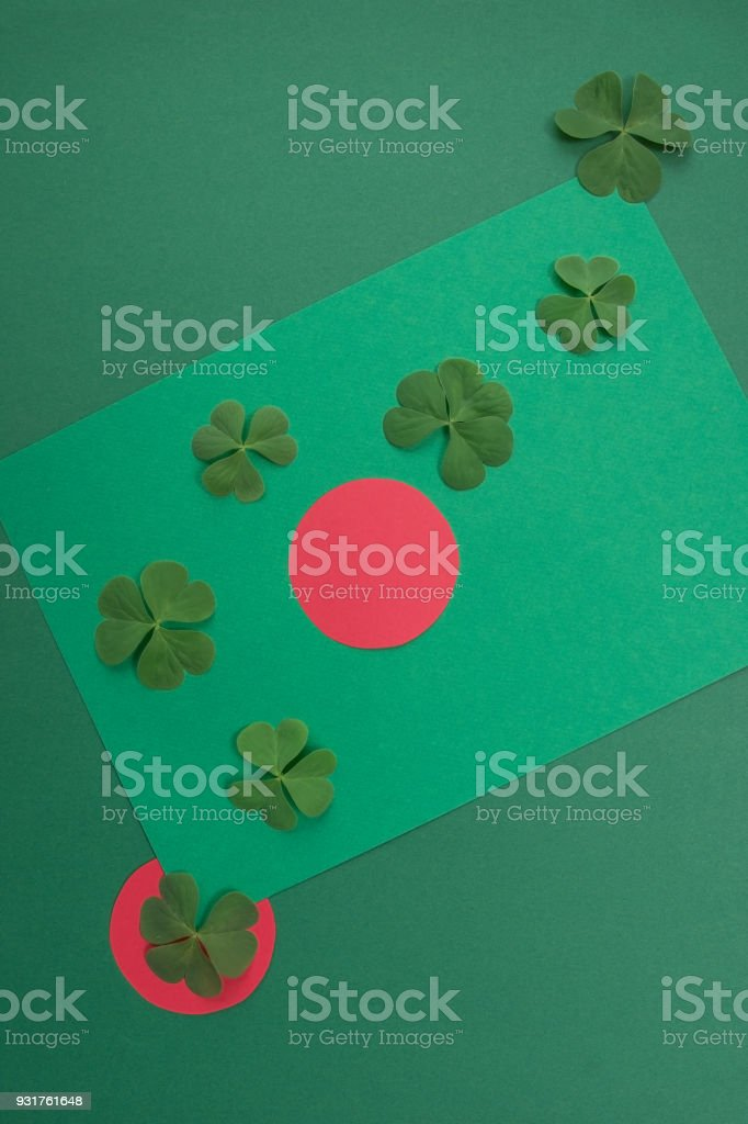 Concept of St. Patrick's Day stock photo