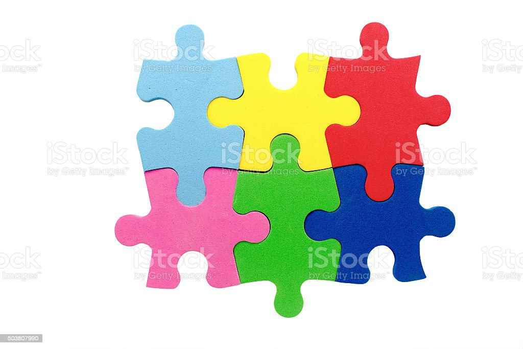 concept of teamwork stock photo