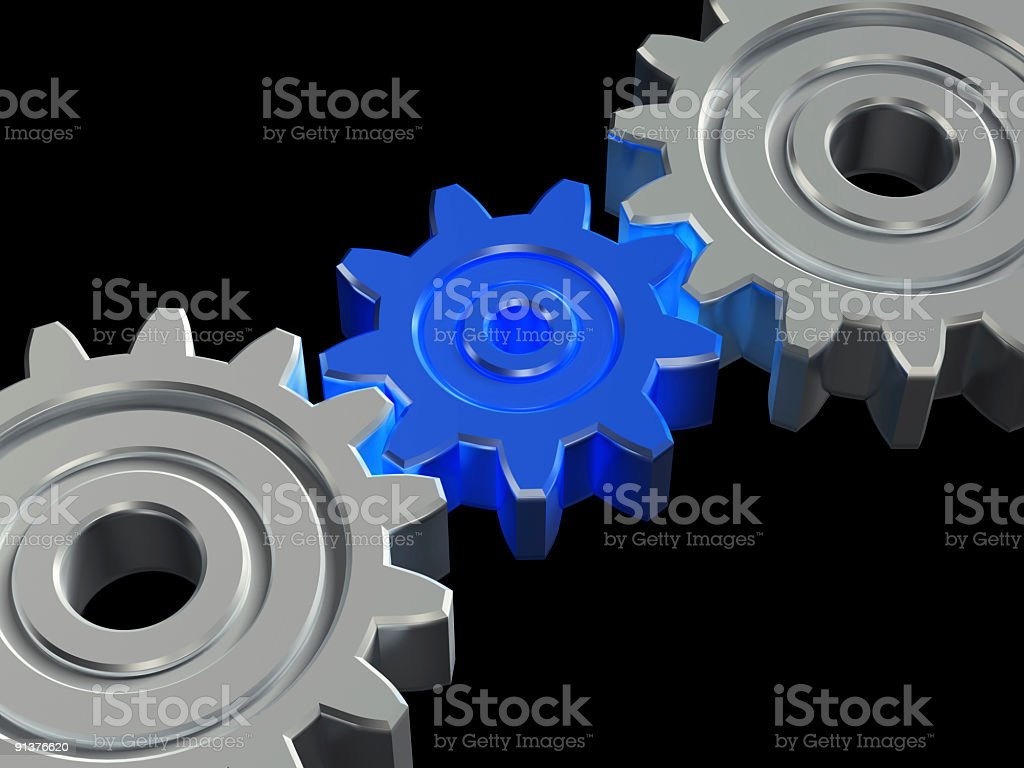 Concept of teamwork royalty-free stock photo