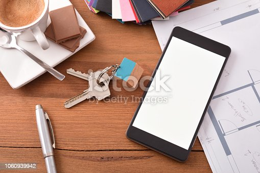 534196421istockphoto Concept of technological use in the construction and interior design 1060939942
