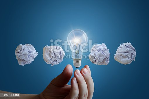 istock Concept of the great business idea. 639139680