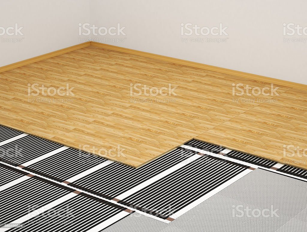 concept of the heating system. stock photo