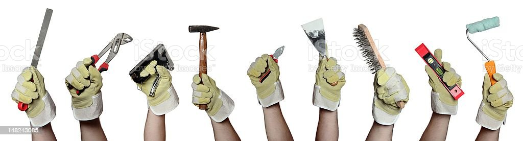 concept of tools royalty-free stock photo