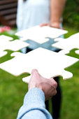 istock Concept of working together and finding a solution 187105994