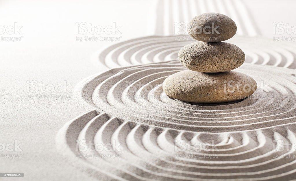 concept of zen silence stock photo