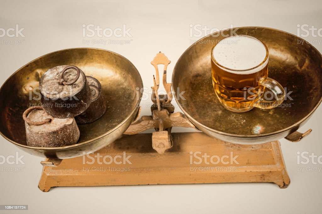 Concept on drinking stock photo