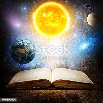 istock Concept on the topic of astronomy or fantasy. 516655920
