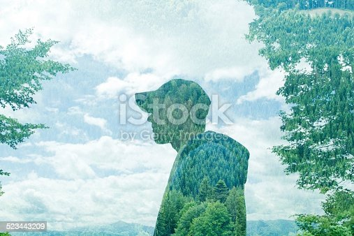498089686 istock photo Concept photo: multiple exposure 523443209