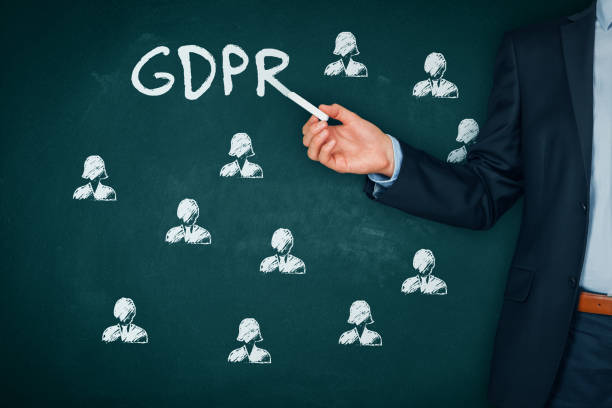 GDPR (general data protection regulation) concept stock photo