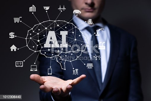 istock AI (Artificial Intelligence) concept. 1012306440