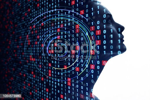 istock AI (Artificial Intelligence) concept. 1054573980