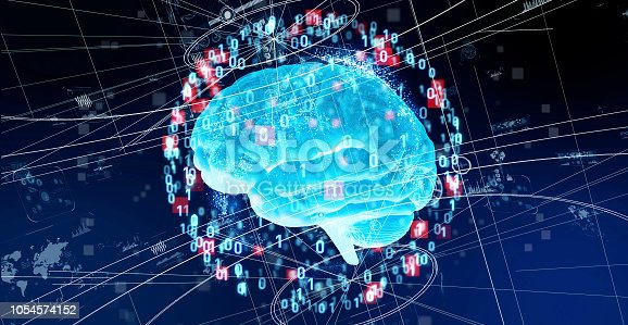 istock AI (Artificial Intelligence) concept. 1054574152