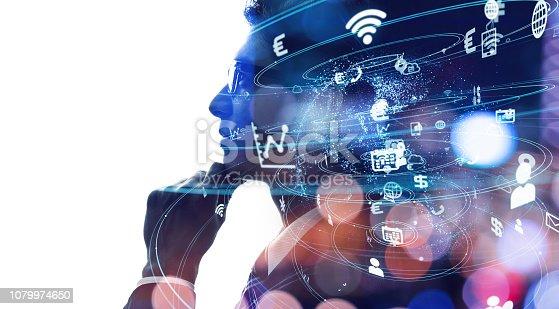 916376282 istock photo AI (Artificial Intelligence) concept. 1079974650