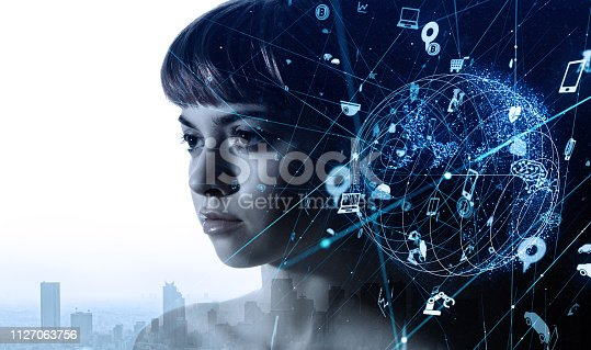 istock AI (Artificial intelligence) concept. 1127063756