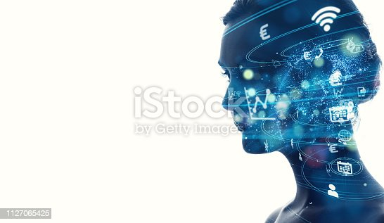 istock AI (artificial Intelligence) concept. 1127065425