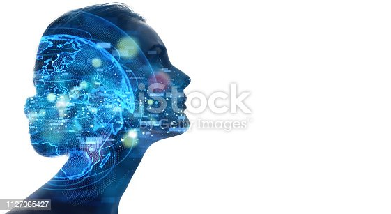 istock AI (artificial Intelligence) concept. 1127065427