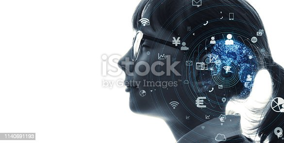 istock AI (Artificial Intelligence) concept. 1140691193