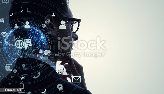 istock AI (Artificial Intelligence) concept. 1140691204