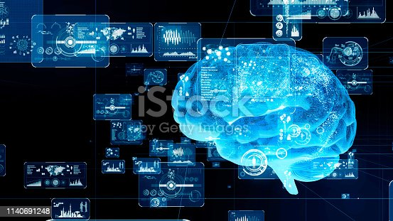 istock AI (Artificial Intelligence) concept. 1140691248