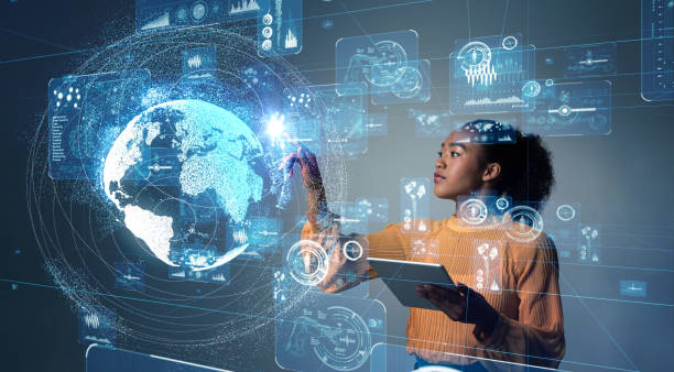 gui (graphical user interface) konzept. - innovation stock-fotos und bilder