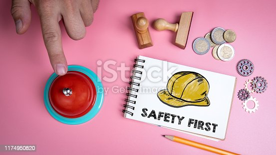 istock SAFETY FIRST concept 1174950820