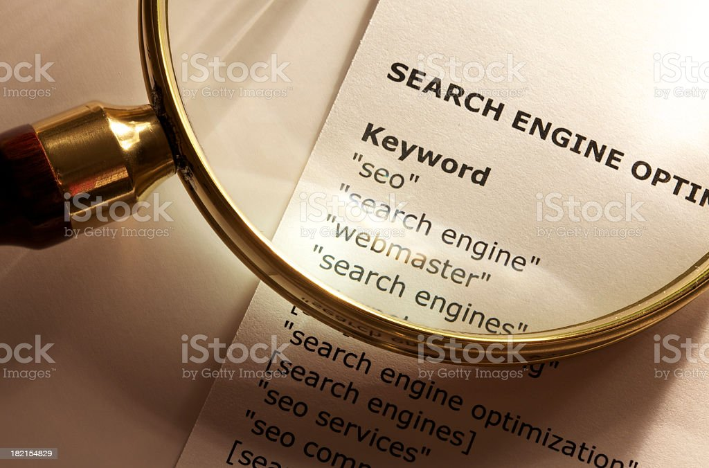 SEO concept royalty-free stock photo
