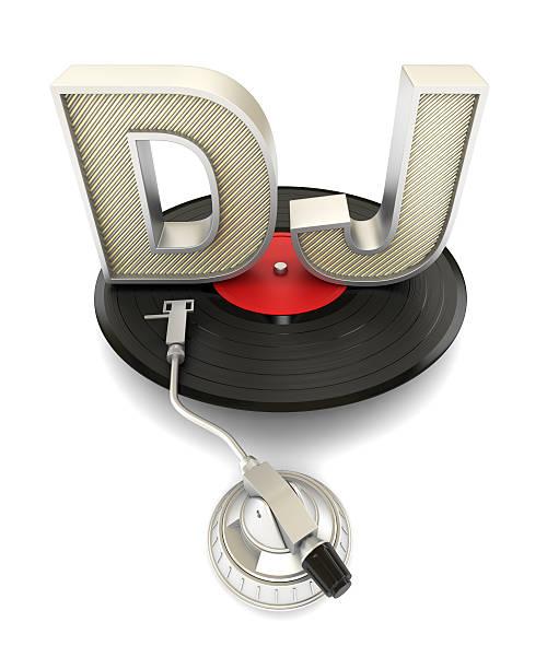 DJ concept stock photo
