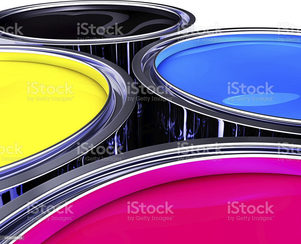 CMYK concept royalty-free stock photo