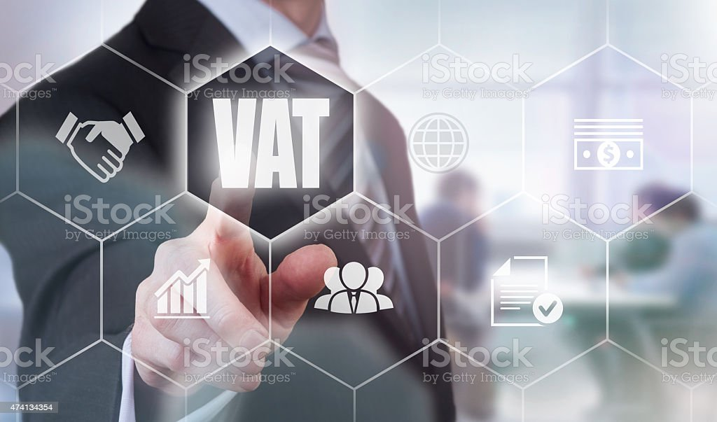 VAT Concept stock photo