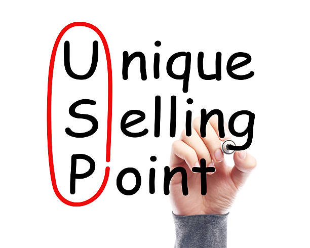 USP concept Hand with marker is drawing USP concept on the transparent white board. acute angle stock pictures, royalty-free photos & images