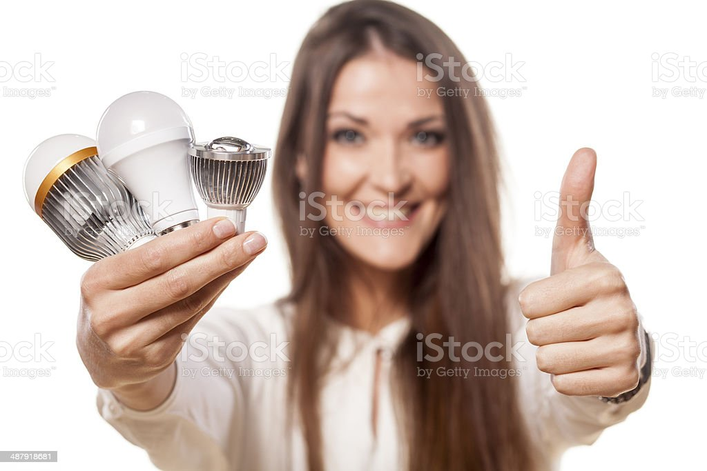 LED concept royalty-free stock photo