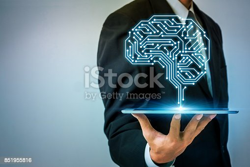 istock AI (artificial intelligence) concept. 851955816