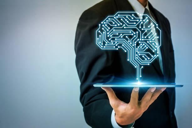 Concept de l'IA (intelligence artificielle). - Photo