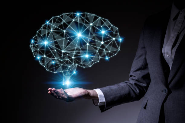 AI (artificial intelligence) concept. stock photo