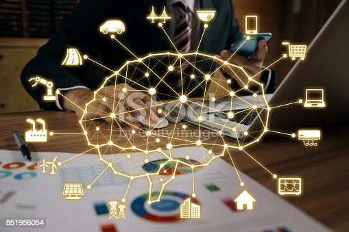 851956284istockphoto AI (artificial intelligence) concept. 851956054