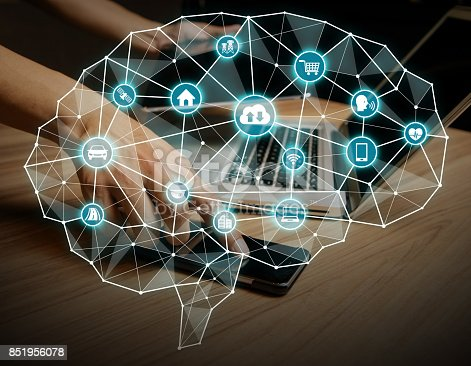 851956284istockphoto AI(Artificial intelligence) concept. 851956078