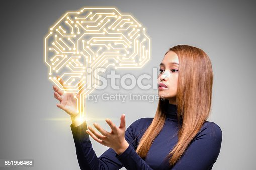 990107166 istock photo AI (artificial intelligence) concept. 851956468