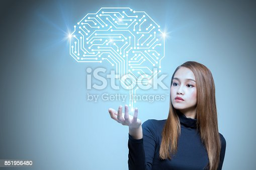 istock AI (artificial intelligence) concept. 851956480