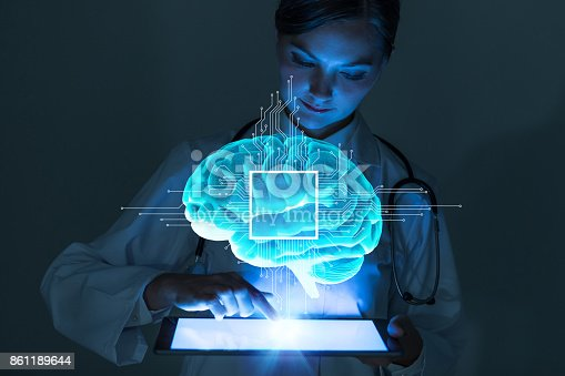 istock AI(Artificial Intelligence) concept. 861189644