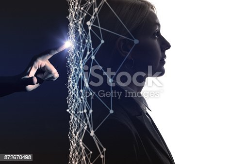 872670490istockphoto AI(Artificial Intelligence) concept. 872670498