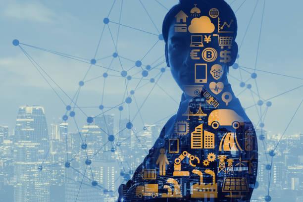 AI(Artificial Intelligence) concept. stock photo