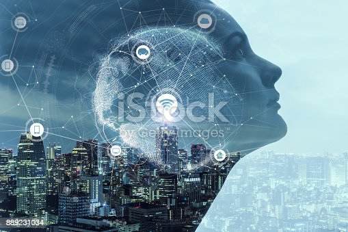 istock AI(Artificial Intelligence) concept. 889231034