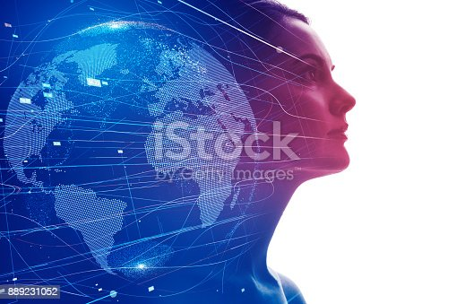 istock AI (Artificial Intelligence) concept. 889231052