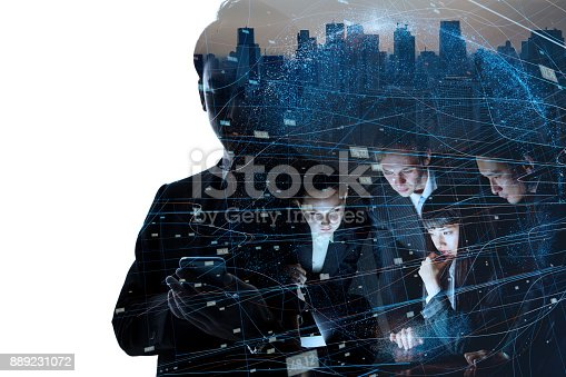 istock AI (Artificial Intelligence) concept. 889231072